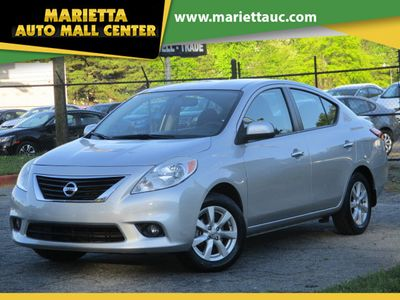2013 Nissan Versa 4dr Sedan CVT 1.6 SL Tech