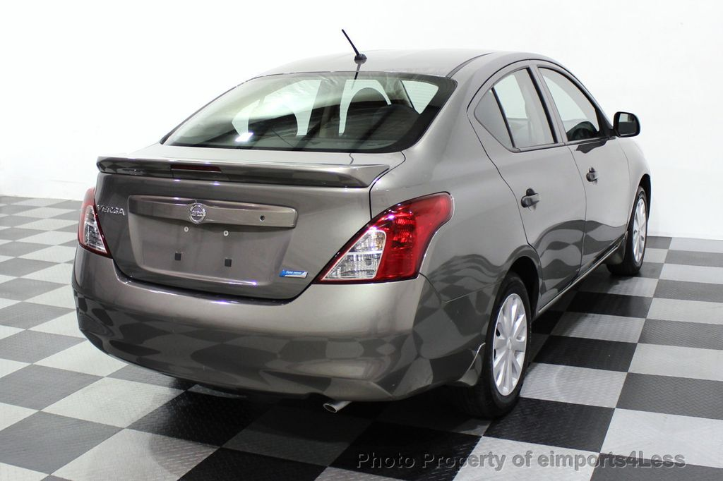 2013 Nissan Versa CERTIFIED VERSA 1.6S - 18315051 - 28