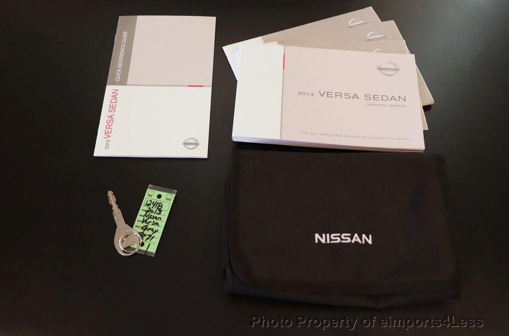 2013 Nissan Versa CERTIFIED VERSA 1.6S - 18315051 - 36