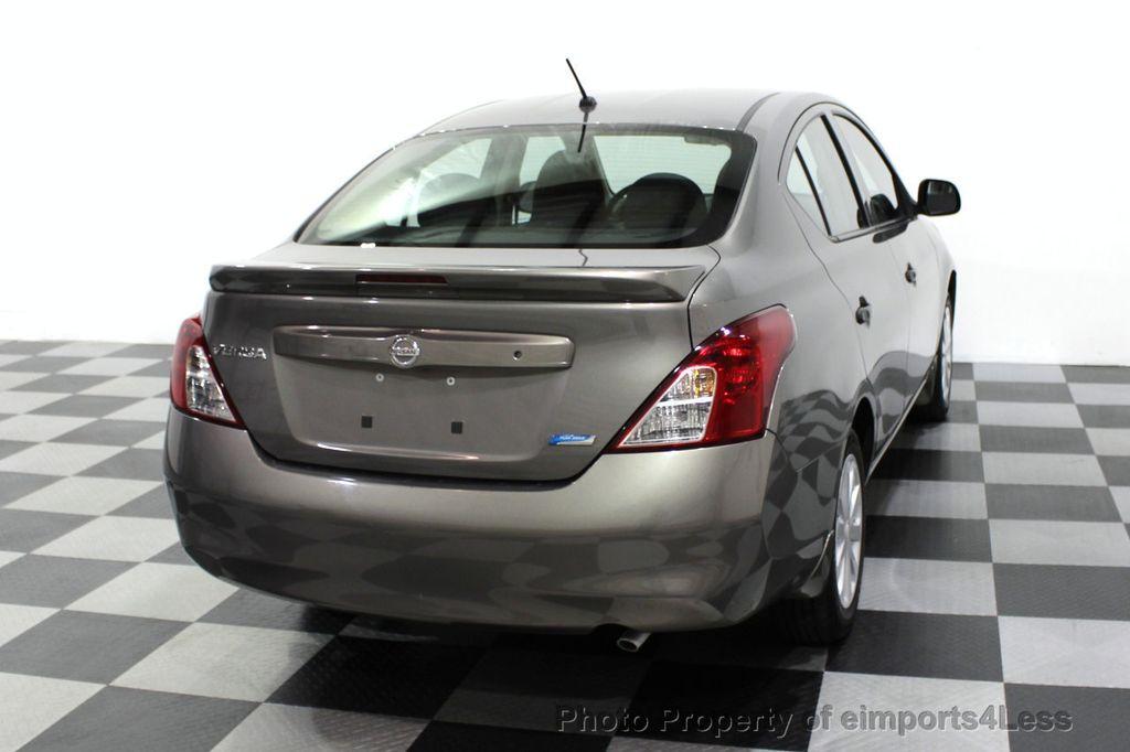 2013 Nissan Versa CERTIFIED VERSA 1.6S - 18315051 - 44