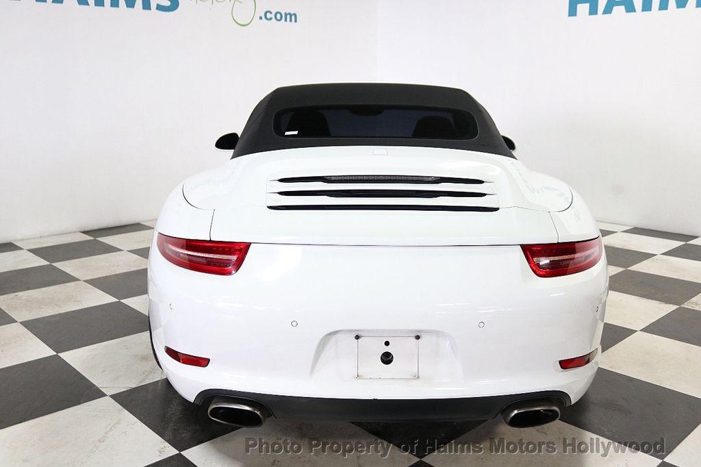 2013 Porsche 911 2dr Cabriolet Carrera - 18179029 - 9