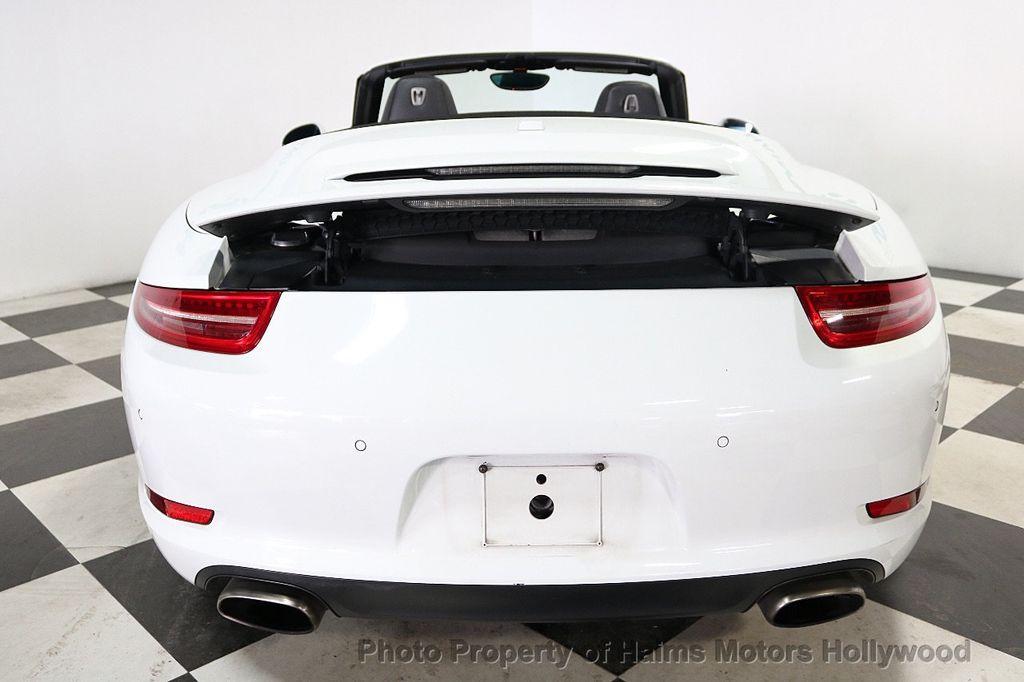 2013 Porsche 911 2dr Cabriolet Carrera - 18179029 - 5