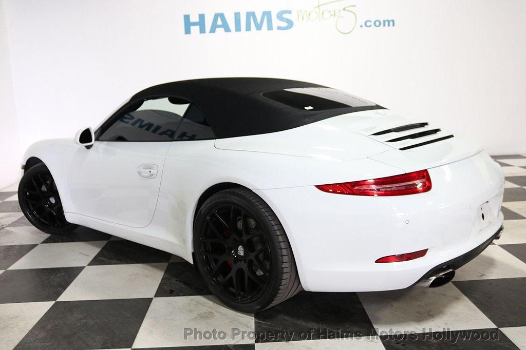 2013 Porsche 911 2dr Cabriolet Carrera - 18179029 - 8