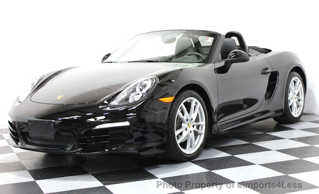 2013 Porsche Boxster CERTIFIED BOXSTER 6 SPEED ROADSTER - 16288396 - 0