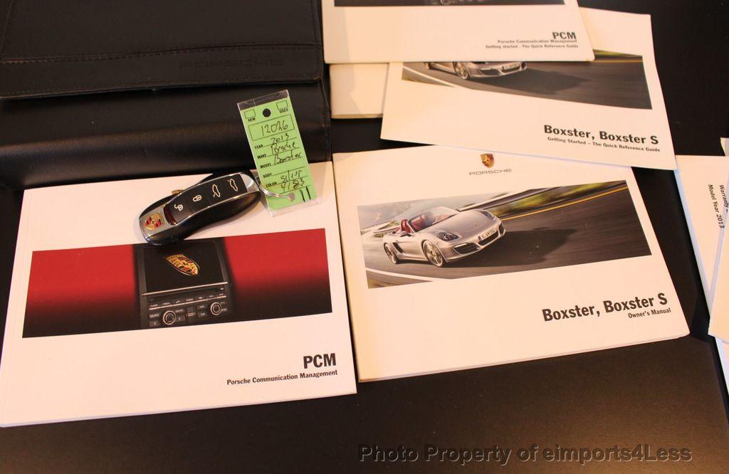 2013 Porsche Boxster CERTIFIED BOXSTER PDK NAVIGATION - 17425256 - 39