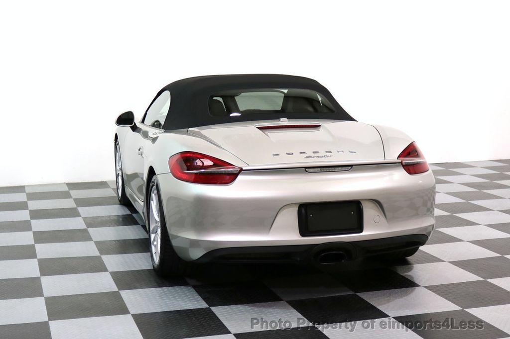 2013 Porsche Boxster CERTIFIED BOXSTER PDK NAVIGATION - 17425256 - 48