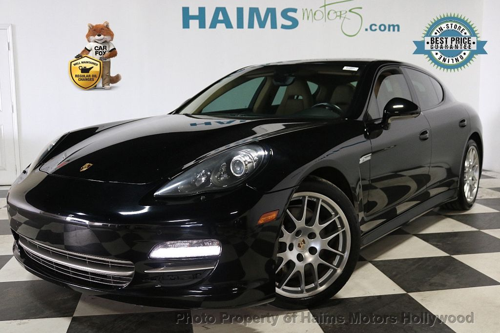 2013 Porsche Panamera 4dr Hatchback 4 Platinum Edition - 18178988 - 0