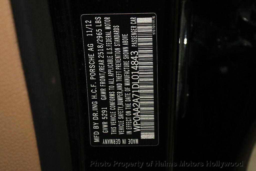 2013 Porsche Panamera 4dr Hatchback 4 Platinum Edition - 18178988 - 34