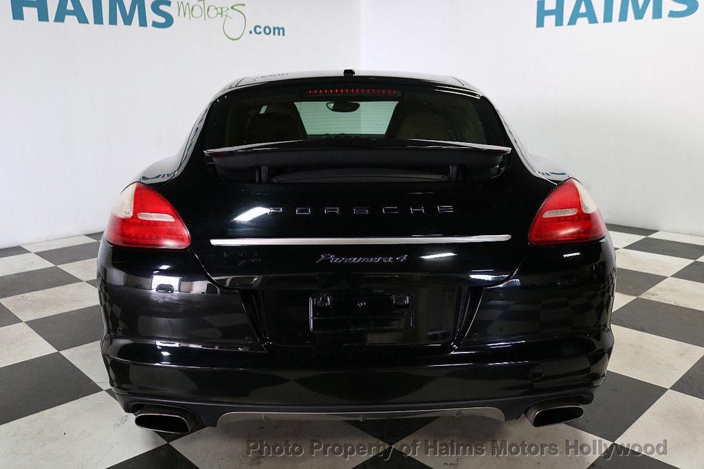 2013 Porsche Panamera 4dr Hatchback 4 Platinum Edition - 18178988 - 5