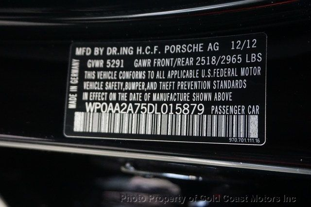 2013 Porsche Panamera 4dr Hatchback 4 Platinum Edition - Click to see full-size photo viewer