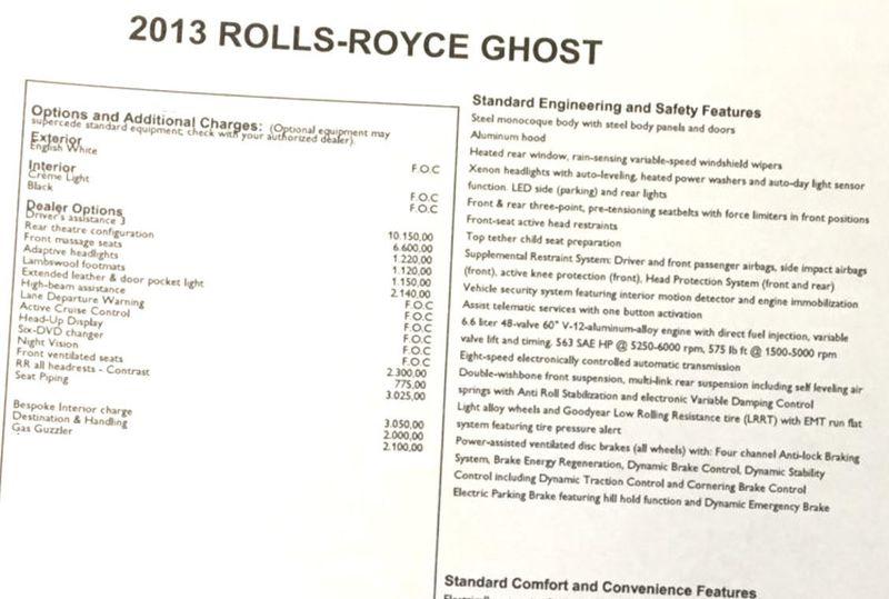2013 Rolls-Royce Ghost 4dr Sedan - 15445047 - 4