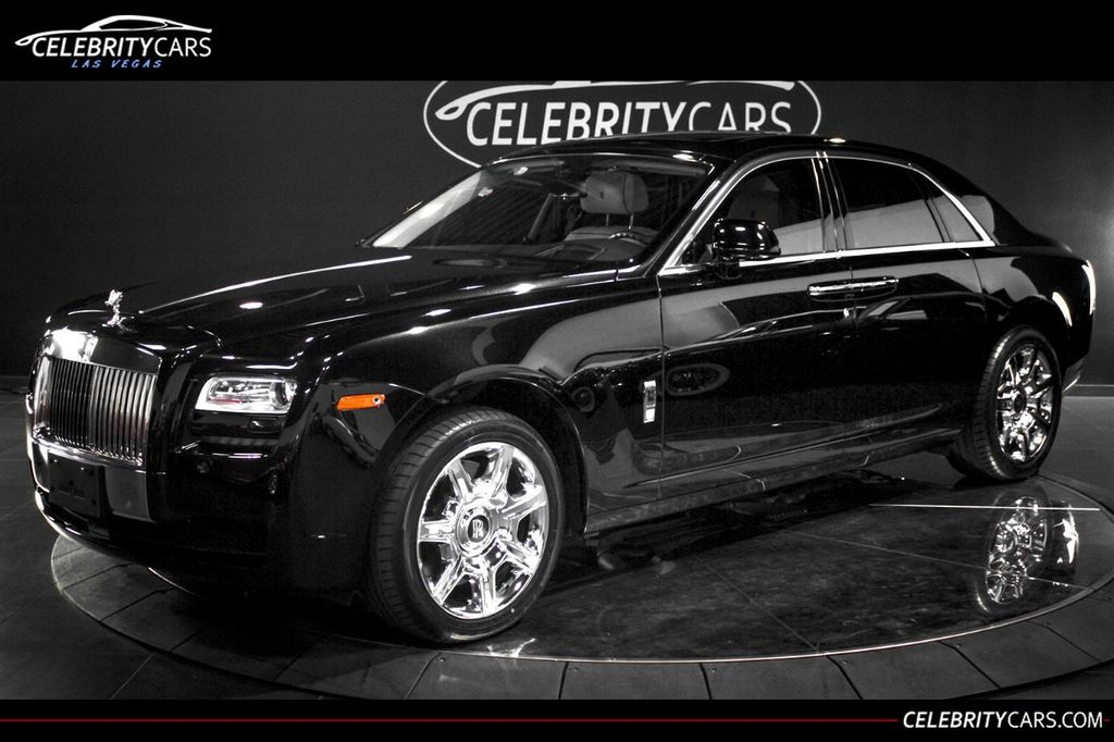 2013 Used Rolls-Royce Ghost 4dr Sedan At Celebrity Cars