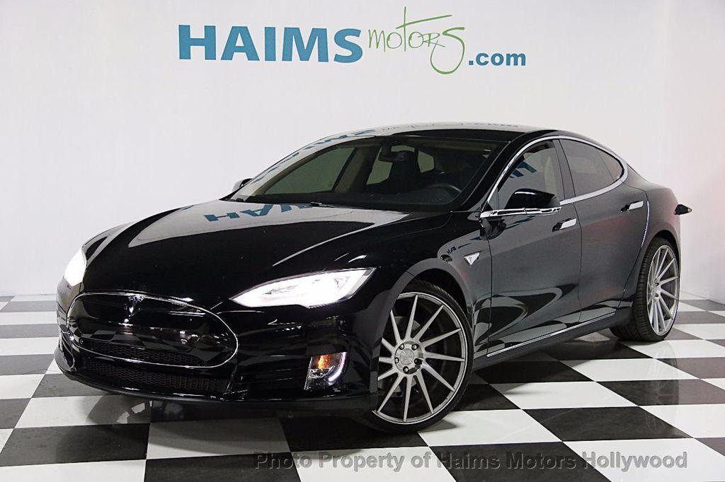 Used Tesla Model S Dr Sedan At Haims Motors Serving Fort - 2013 tesla model s range