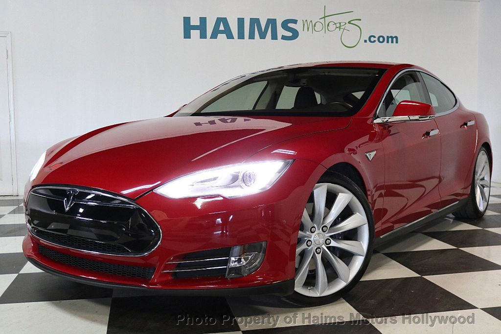 2013 Used Tesla Model S 4dr Sedan Performance At Haims Motors