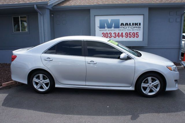 Toyota Camry Used >> 2013 Used Toyota Camry At Maaliki Motors Serving Aurora Denver Co
