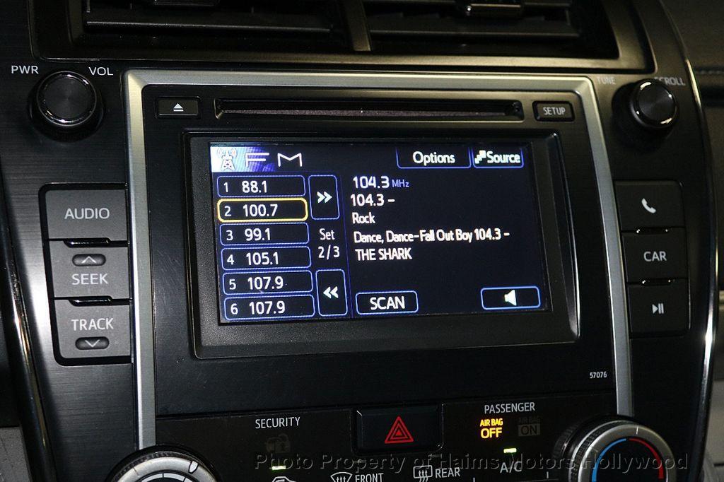 2013 Toyota Camry 4dr Sedan I4 Automatic LE - 17518575 - 19