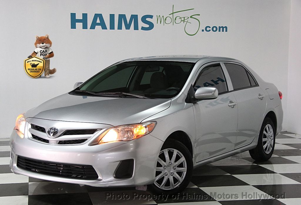 2013 used toyota corolla at haims motors serving fort lauderdale hollywood miami fl iid 16751621. Black Bedroom Furniture Sets. Home Design Ideas