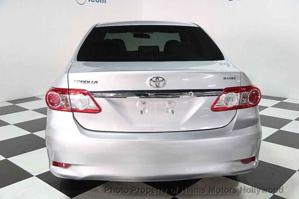 2013 Used Toyota Corolla At Haims Motors Hollywood Serving