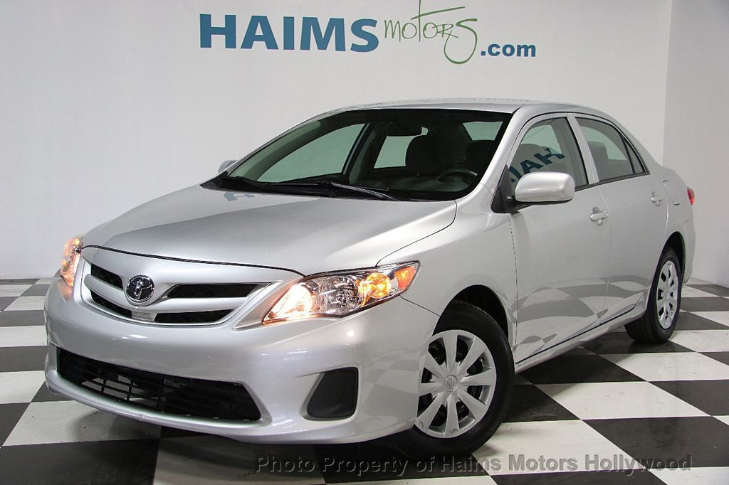 2013 Used Toyota Corolla 4dr Sedan Automatic L At Haims