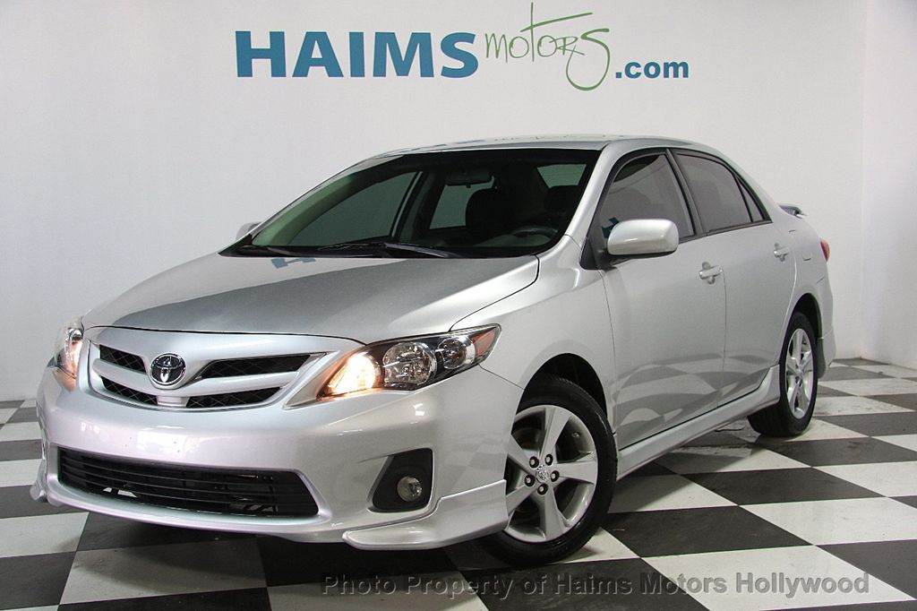 2013 used toyota corolla 4dr sedan automatic s at haims motors serving fort lauderdale. Black Bedroom Furniture Sets. Home Design Ideas