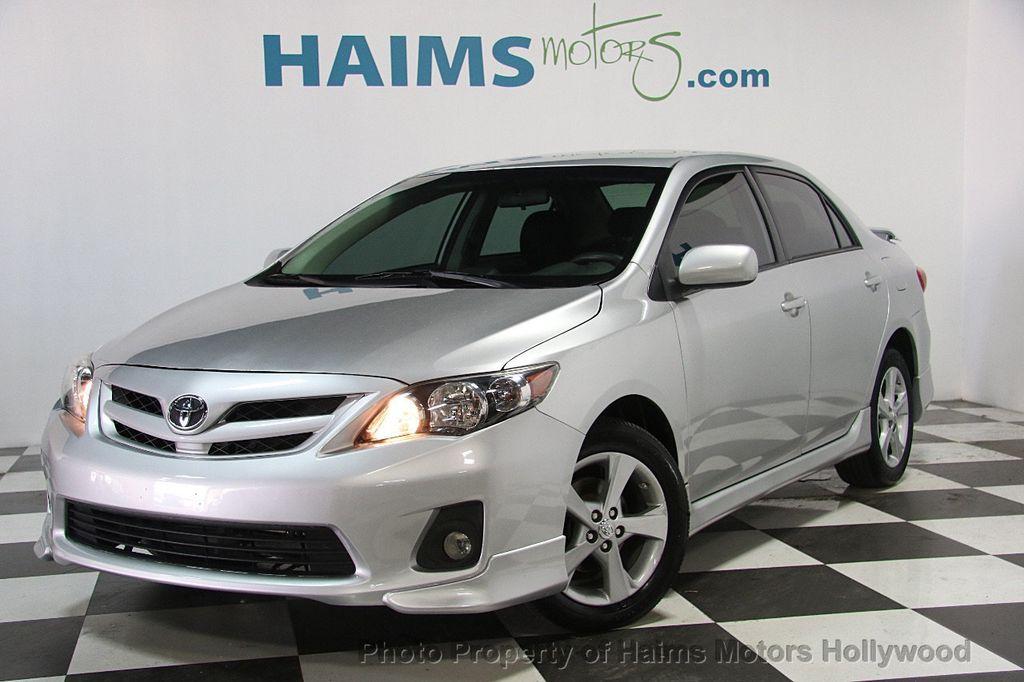 Toyota Hollywood Fl >> 2013 Used Toyota Corolla 4dr Sedan Automatic S at Haims ...