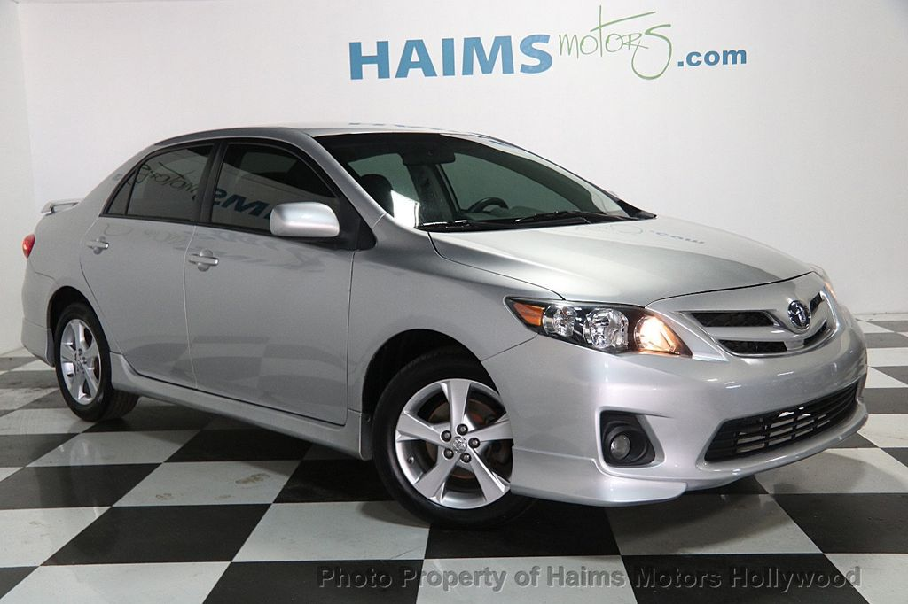 2013 used toyota corolla 4dr sedan automatic s at haims motors ft lauderdale serving lauderdale. Black Bedroom Furniture Sets. Home Design Ideas