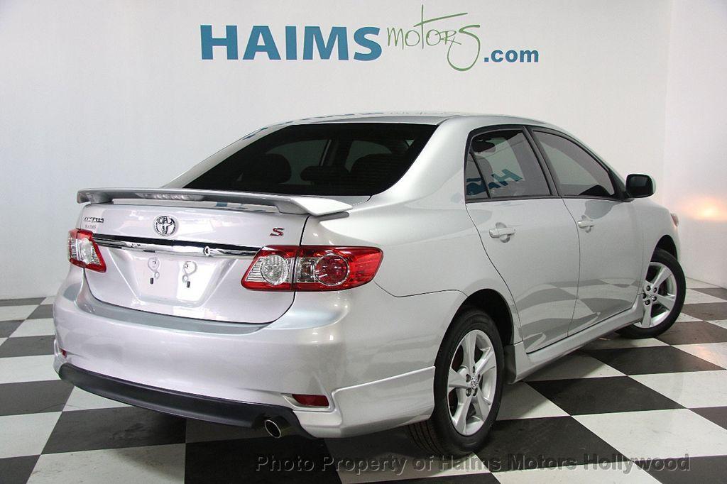 2013 Used Toyota Corolla 4dr Sedan Automatic S At Haims