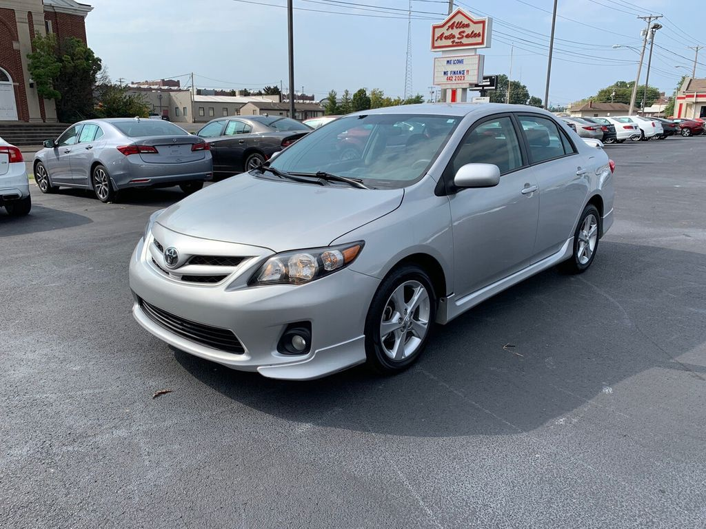 Toyota Corolla Used >> 2013 Used Toyota Corolla 4dr Sedan Automatic S At Allen Auto Sales Serving Paducah Ky Iid 19371918