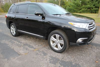 2013 Toyota Highlander AWD LIMITED LEATHER NAVIGATION MOONROOF SUV