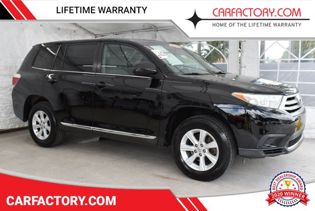 Used Utility Vehicles >> 2013 Used Toyota Highlander Fwd 4dr I4 Plus Base I4 4 Door Wagon Sport Utility At Car Factory Outlet Serving Miami Dade Broward Palm Beach Collier