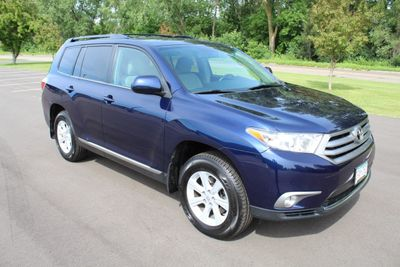 2013 Toyota Highlander SE ONE OWNER LEATHER MOONROOF AWD SUV