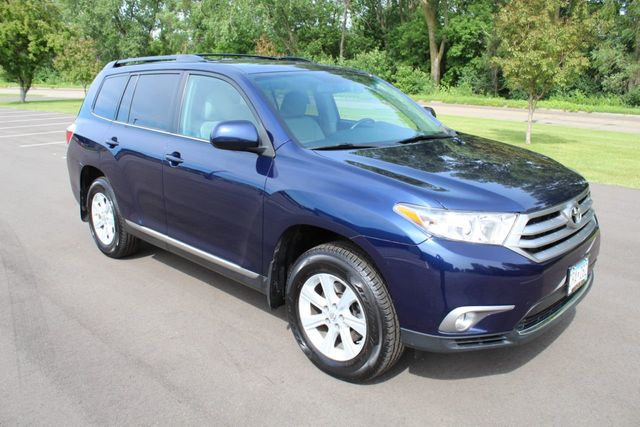 2013 Toyota Highlander SE ONE OWNER LEATHER MOONROOF AWD