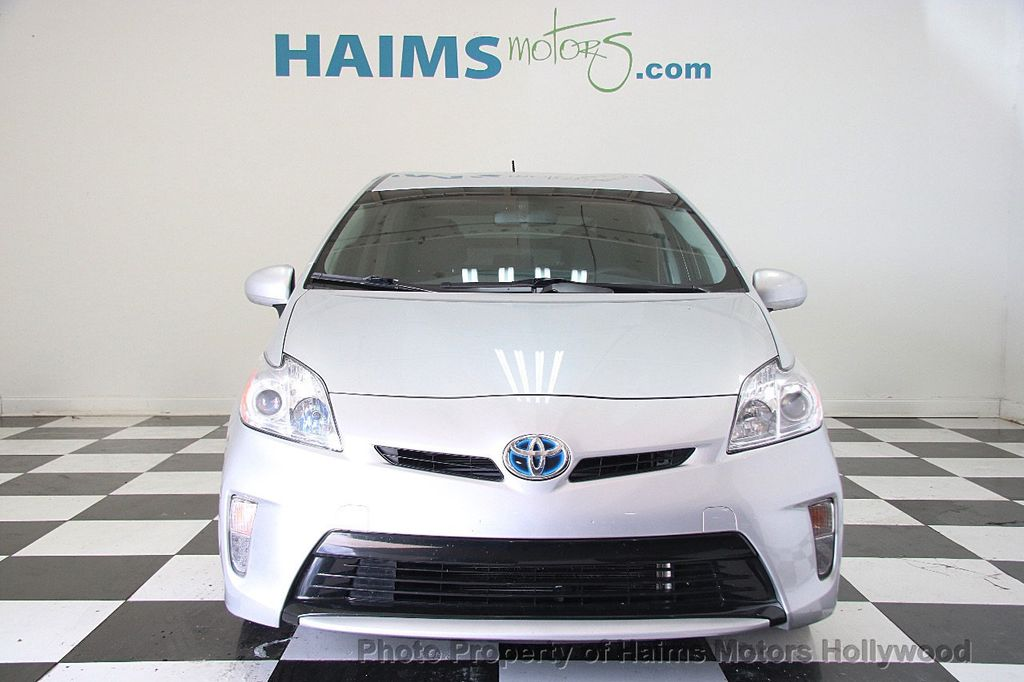 2013 Used Toyota Prius 5dr Hatchback Four At Haims Motors Serving Fort Lauderdale Hollywood