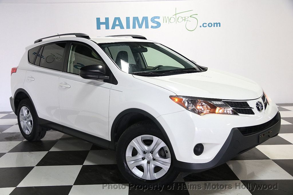 2013 Used Toyota Rav4 Le At Haims Motors Serving Fort Lauderdale