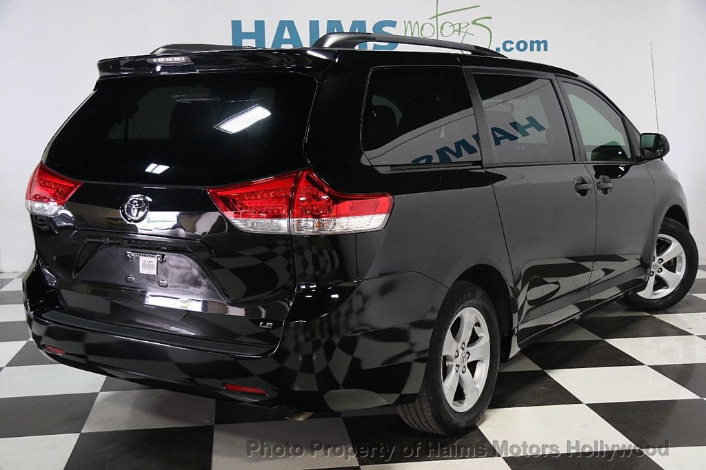 2013 Used Toyota Sienna 5dr 8 Passenger Van V6 Le Fwd At Haims Motors Serving Fort Lauderdale