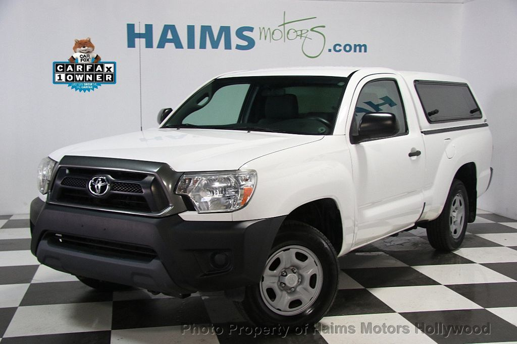 2013 used toyota tacoma 2wd reg cab i4 automatic at haims motors serving fort lauderdale. Black Bedroom Furniture Sets. Home Design Ideas