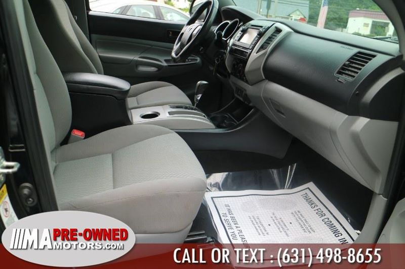 2013 Used Toyota Tacoma 4WD Double Cab V6 Automatic at WeBe Autos Serving  Long Island, NY, IID 19212704