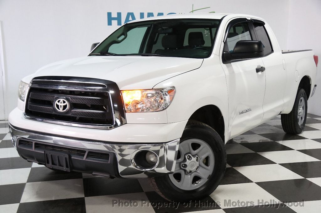 2013 Toyota Tundra Double Cab 4.6L V8 6-Spd AT (GS) - 16132403 - 0