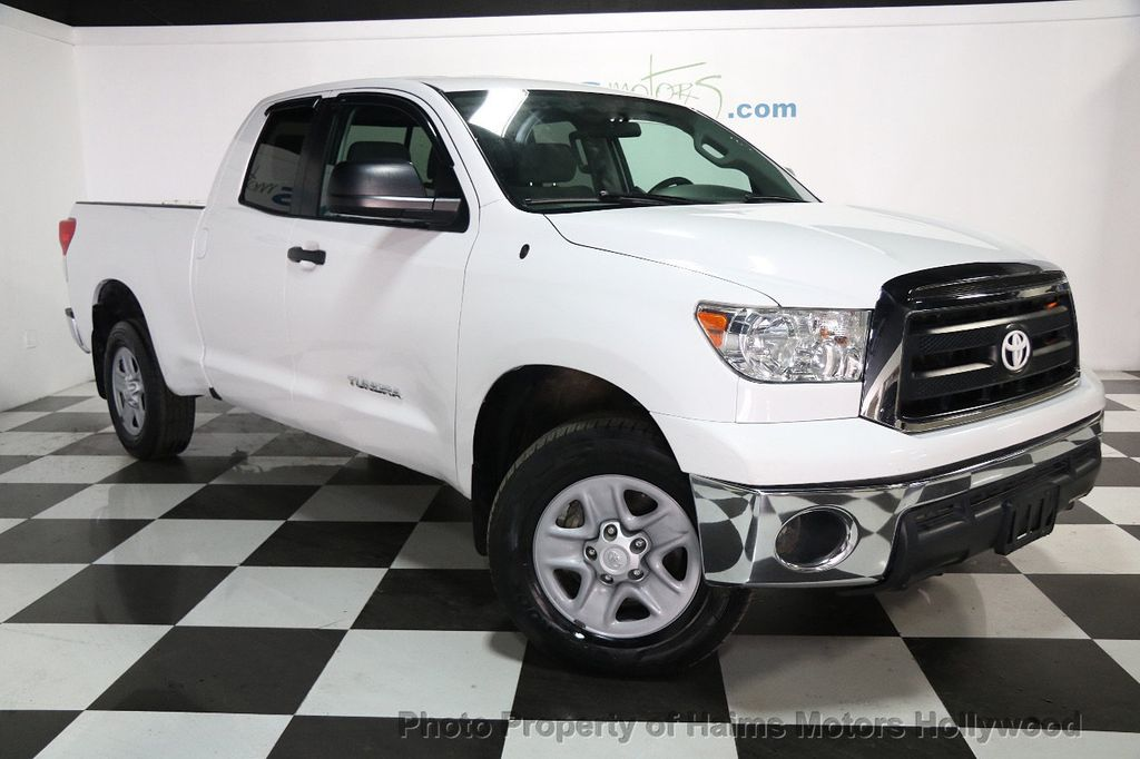 2013 Toyota Tundra Double Cab 4.6L V8 6-Spd AT (GS) - 16132403 - 2
