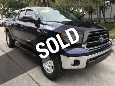 2013 Toyota Tundra Double Cab 5.7L V8 6-Spd AT (Natl)