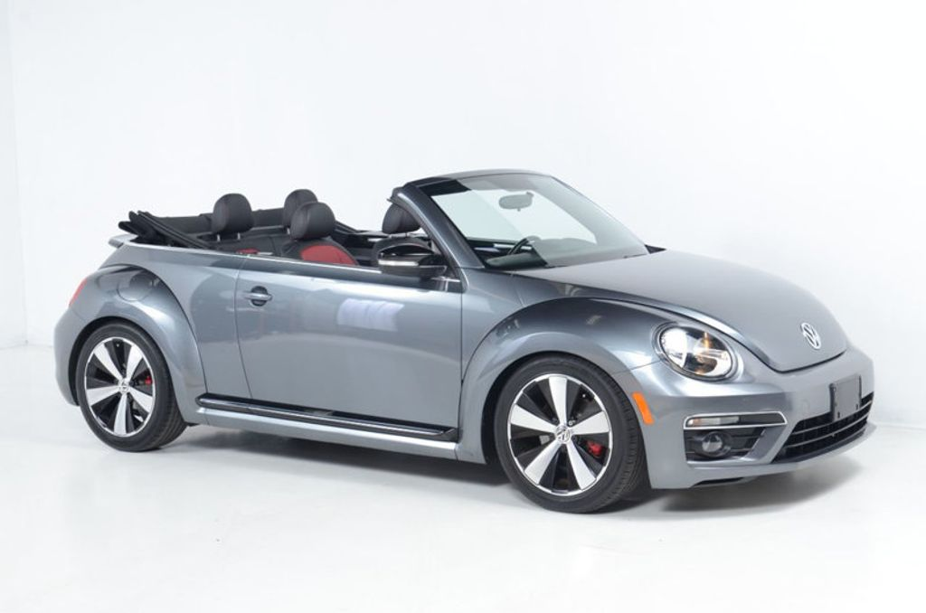 2013 Volkswagen Beetle Convertible 2.0 TURBO CONVERTIBLE-NAVIGATION-HEATED LEATHER-FENDER AUDIO - 17148642 - 4