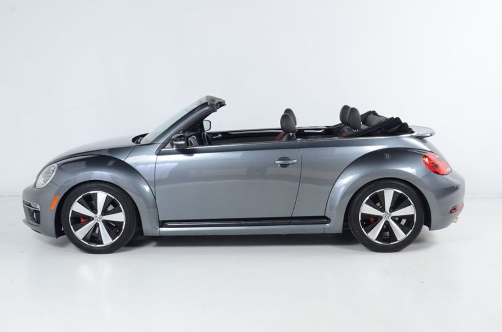 2013 Volkswagen Beetle Convertible 2.0 TURBO CONVERTIBLE-NAVIGATION-HEATED LEATHER-FENDER AUDIO - 17148642 - 5