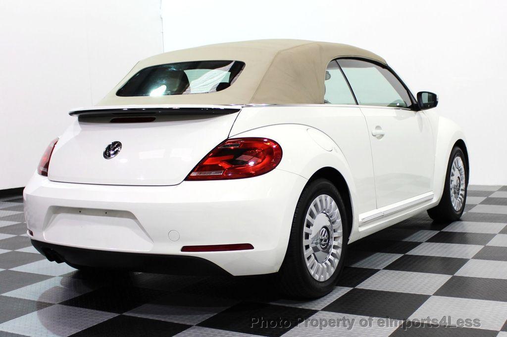 2013 Used Volkswagen Beetle Convertible Certified Bug 2 5