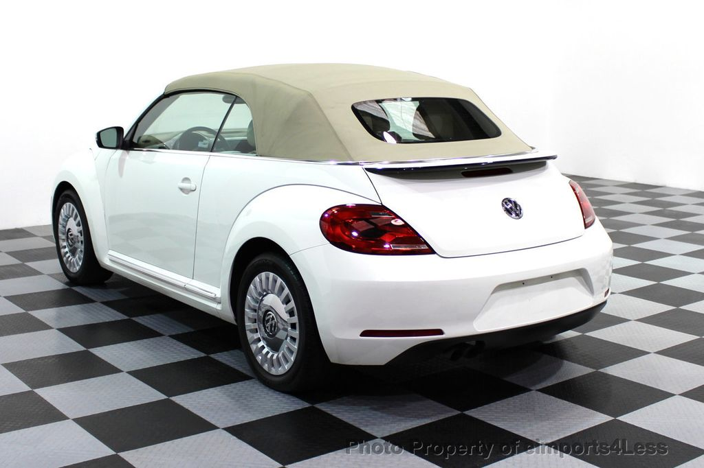 2013 Used Volkswagen Beetle Convertible Certified Bug 2 5 Convertible At Eimports4less Serving