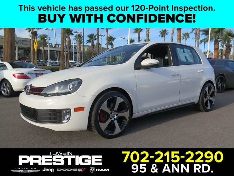 2013 Volkswagen Golf GTI 4dr Hatchback DSG w/Sunroof & Navi PZEV *Ltd Avail - 17407001 - 0