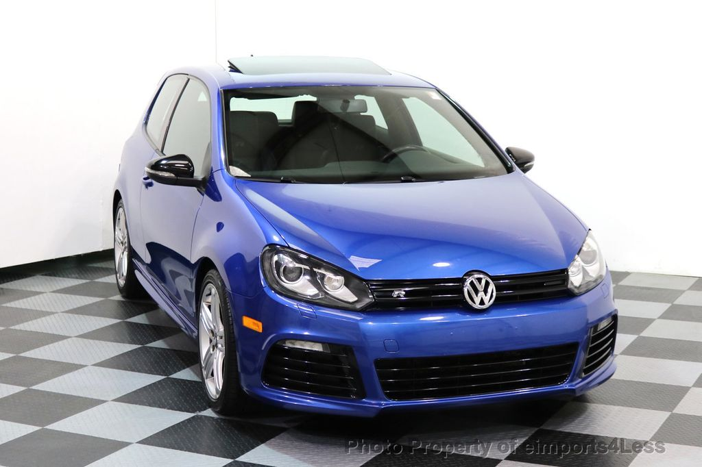 2013 Volkswagen Golf R CERTIFIED GOLF R AWD SUNROOF NAVIGATION 2 DOOR 6 SPEED - 17179693 - 13