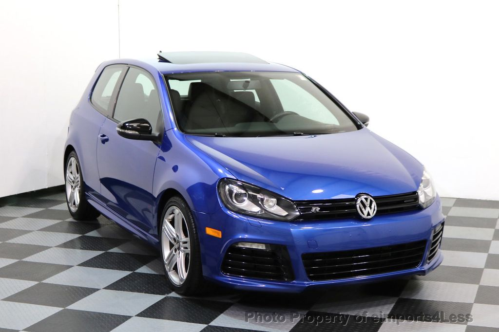 2013 Volkswagen Golf R CERTIFIED GOLF R AWD SUNROOF NAVIGATION 2 DOOR 6 SPEED - 17179693 - 1
