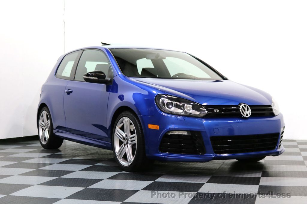 2013 Volkswagen Golf R CERTIFIED GOLF R AWD SUNROOF NAVIGATION 2 DOOR 6 SPEED - 17179693 - 33