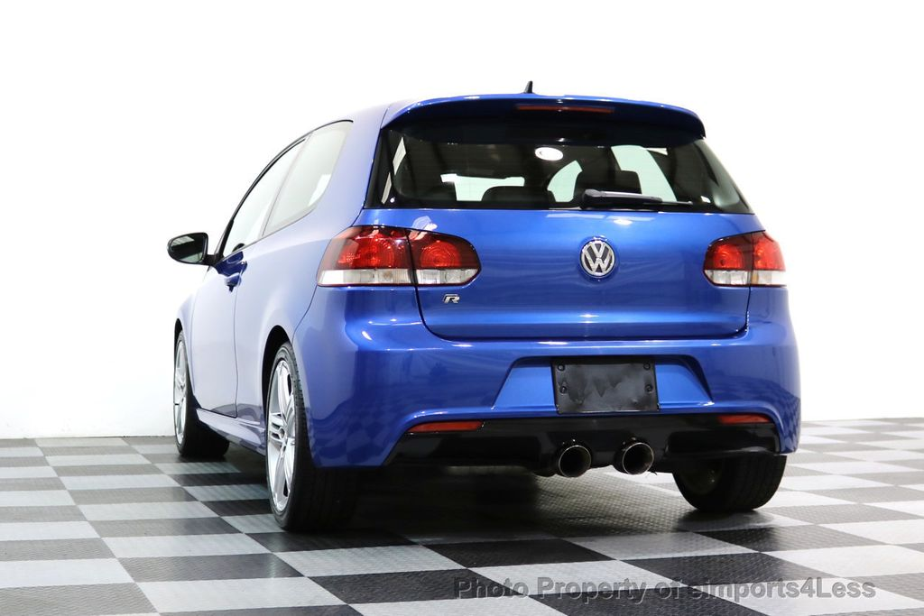 2013 Volkswagen Golf R CERTIFIED GOLF R AWD SUNROOF NAVIGATION 2 DOOR 6 SPEED - 17179693 - 34