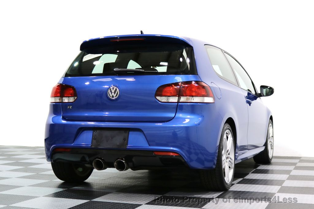 2013 Volkswagen Golf R CERTIFIED GOLF R AWD SUNROOF NAVIGATION 2 DOOR 6 SPEED - 17179693 - 36